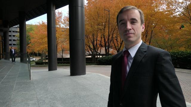Der konservative Anwalt und Präsident der Aktivistengruppe Georgia Republican Alex Johnson.