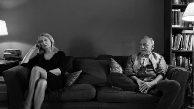 Patricia Clarkson und Bruno Ganz in «The Party».
