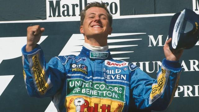 Von «Schummel-Schumi» zu Weltmeister Schumacher