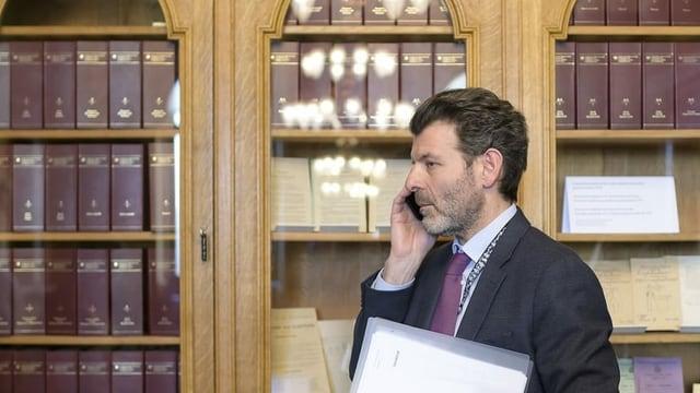 Il diplomat svizzer Roberto Balzaretti.