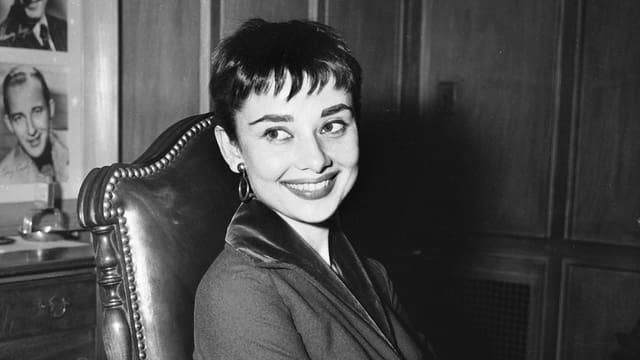 Schauspielerin Audrey Hepburn