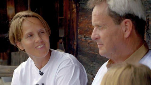 Annabel Zenger (41) und Hanspeter Zingre (69) haben ein gutes Verhältnis - trotz Firmenübergabe.