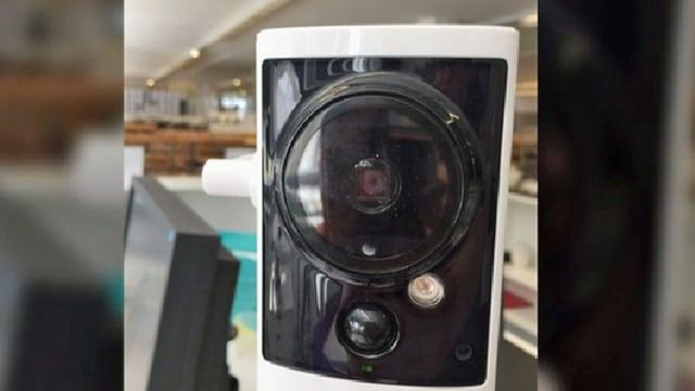 Überwachungskamera in einem Büro