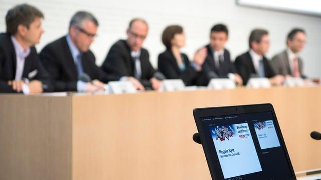 Il comité independent ha infurmà davart lur posiziun areguard l'iniziativa dal servetsch public.