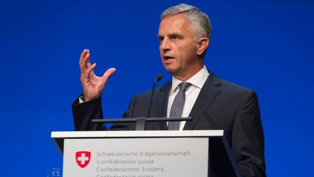 Il Cusseglier federal Didier Burkhalter.