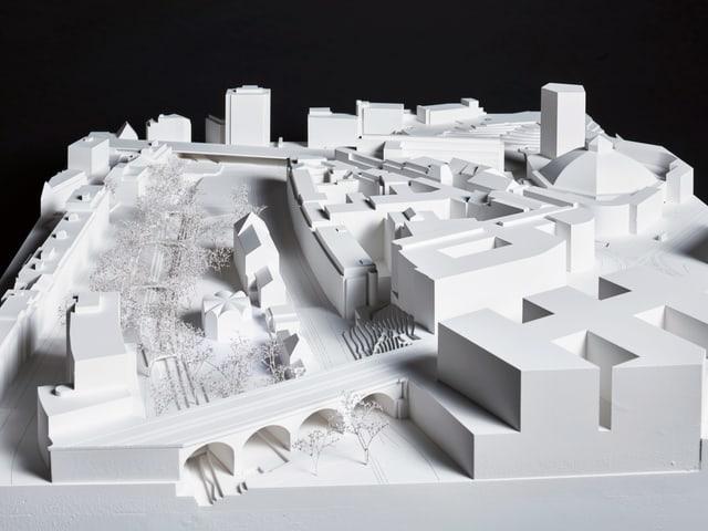 Modell des Siegerprojekts