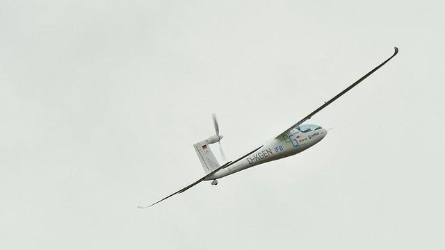 Ein elektrisch betriebenes Kleinflugzeug