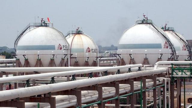 Raffinerie von Pemex