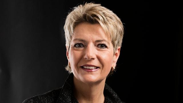 Porträt Keller-Sutter