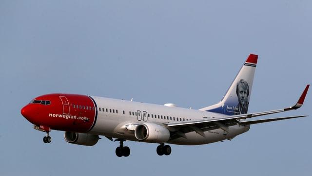 Flugzeug der Fluggesellschaft Norwegian