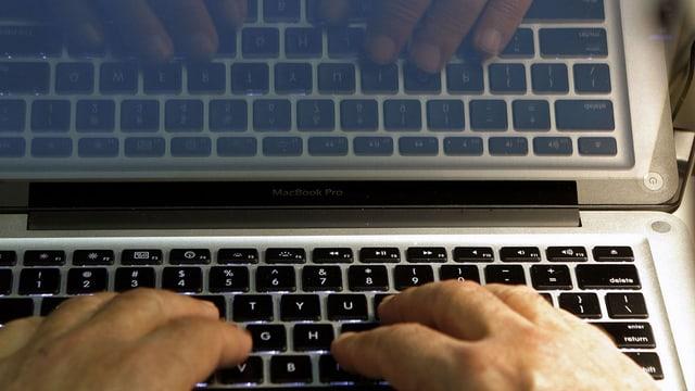 tastatura d'in laptop
