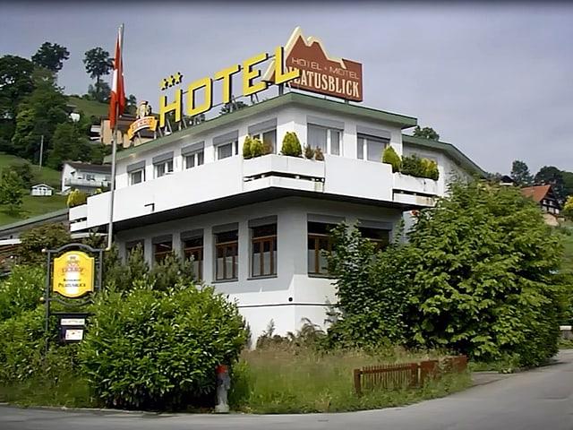 Das ehemalige Motel «Pilatusblick» in der Luzerner Gemeinde Kriens.