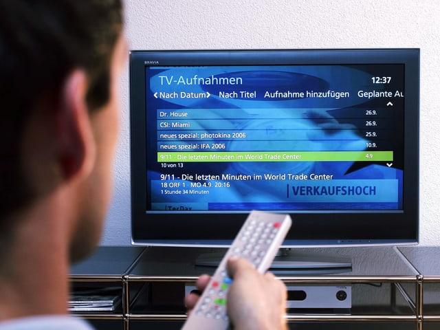 So viele Sendungen, so wenig Zeit! Dank Replay-TV lässt sich verpasstes nachholen.