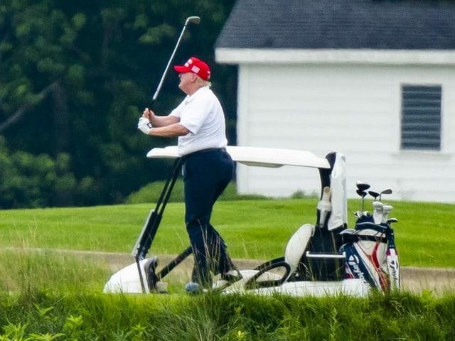 Donald Trump, hier auf einer Analge in Sterling, Virgina.