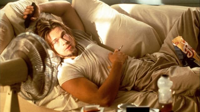 Brad Pitt in «True Romance».