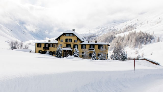 Il hotel Fex en la Val Fex en l'Engiadin'Ota.