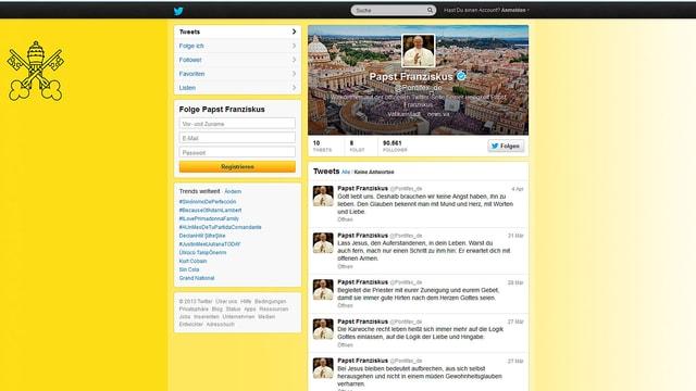 Screenshot Papst.