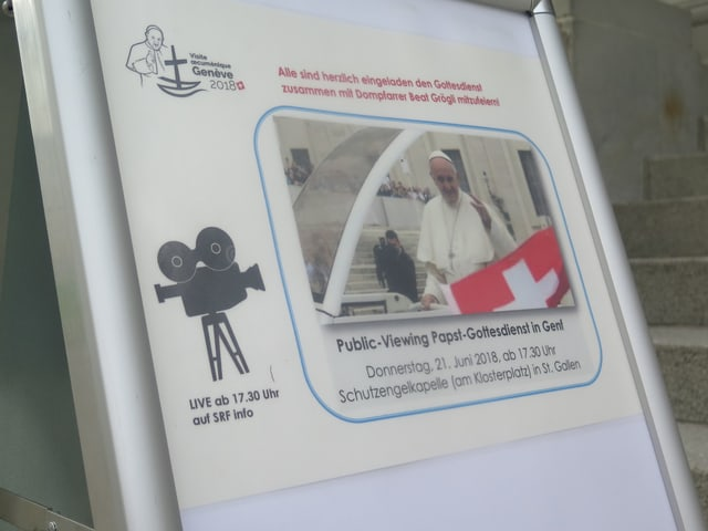Plakat zum Public-Viewing