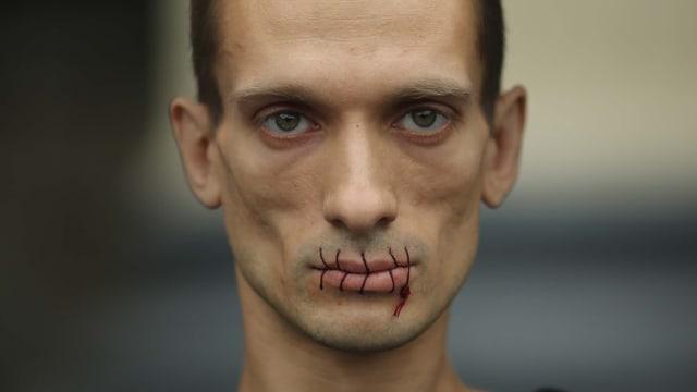 Video «Der Mensch und die Macht – der russische Künstler Pawlenski» abspielen