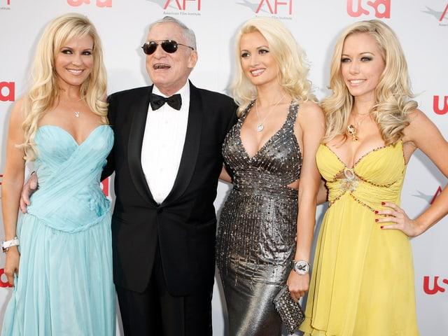 Sein Leben lang umgab sich der Lebemann mit schönen Frauen.