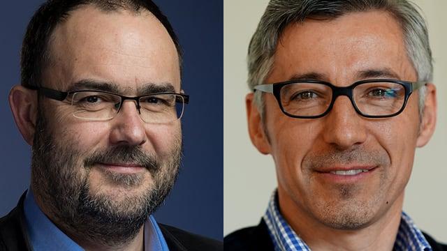 Markus Brönnimann und Markus Bänzinger.