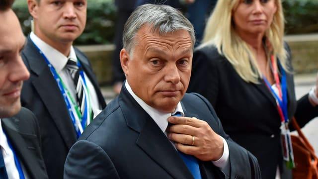 Ungarns Premier Viktor Orban