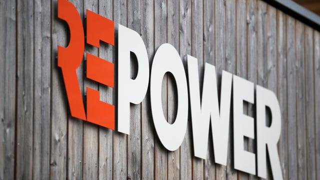 Logo der Stromkonzerns Repower