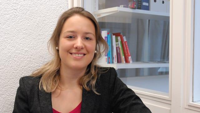 Porträt Lea Thommen, Projektverantwortliche Erweiterung «Easyvote»