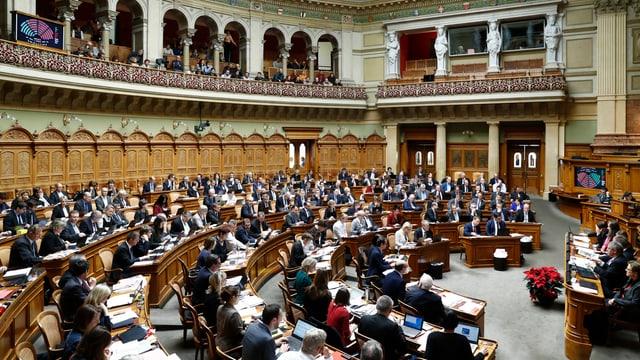 Budget 2017: Cun 105 cunter 84 vuschs tar 5 abstenziuns ha la Chombra gronda ditg na tar las propostas da cumpromiss.