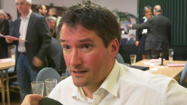 SP-Ständeratskandidat Christian Levrat.