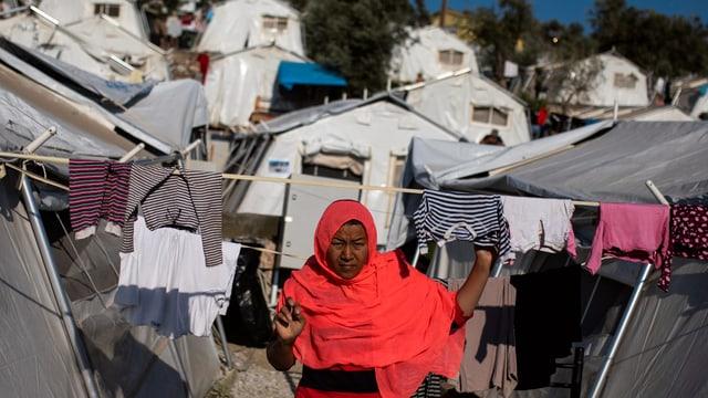 Griechische Lager völlig überfüllt