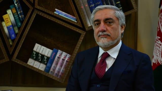 Abdullah Abdullah ist einer der obersten Vermittler auf der Seite der Republik Afghanistan.