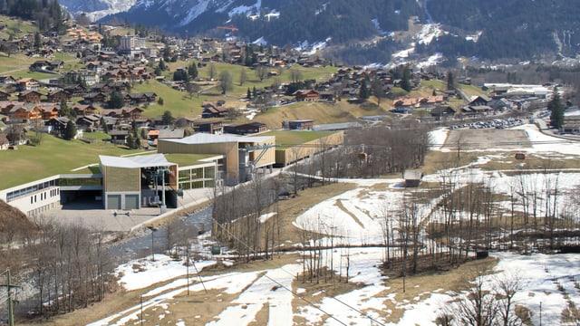 Visualisierung der Talstation.