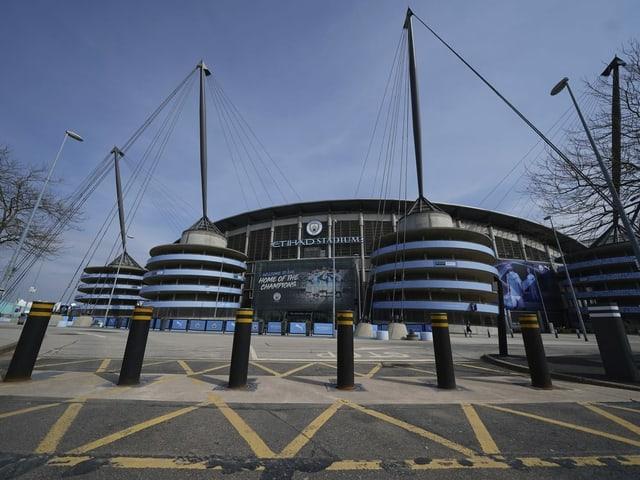 Stadion der Premier League von aussen