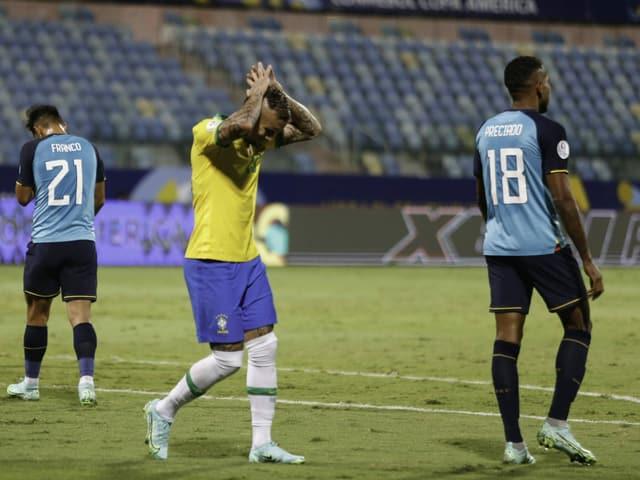 Brasilien trat gegen Ecuador mit einer «B-Elf» an.