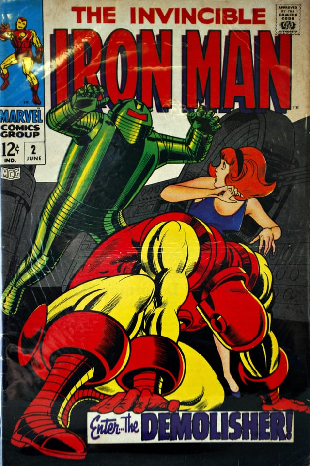 Cover eines Comics