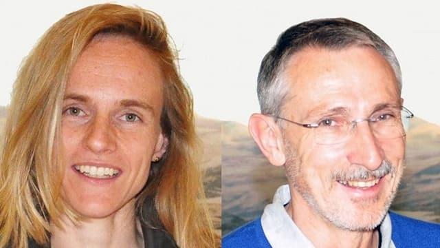 Chatrina Gaudenz e Philipp Ramming