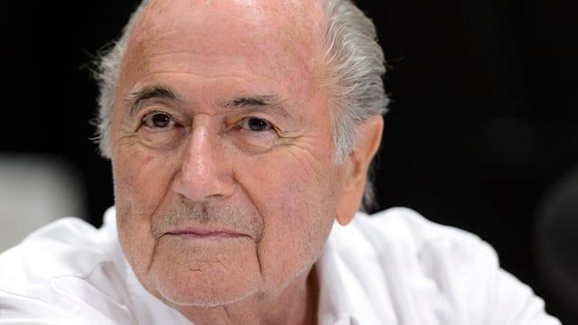 Il president da la FIFA, Joseph Blatter.