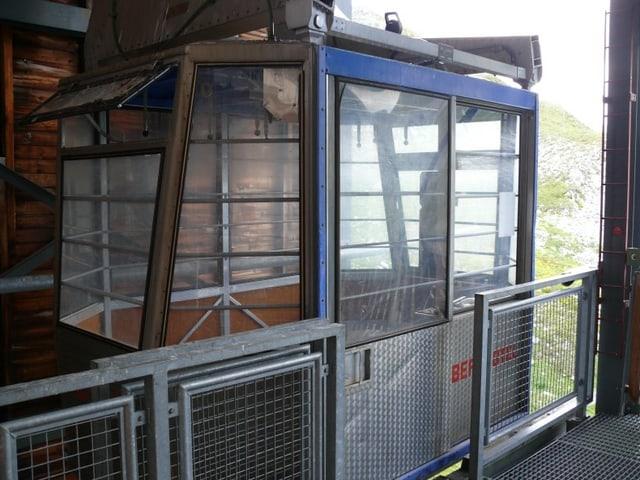 La cabina da la Schatzalp (2009).