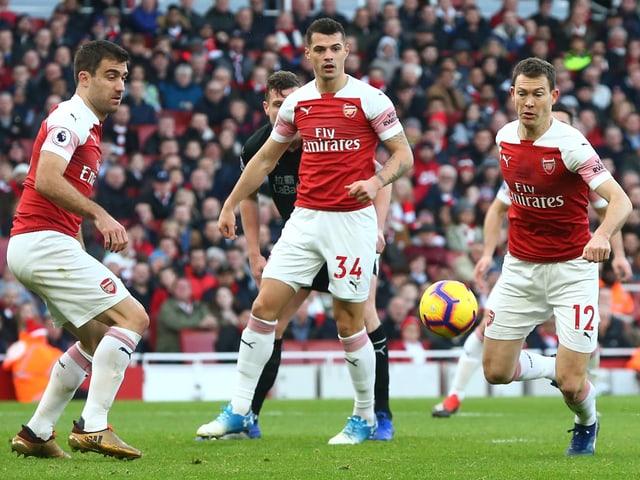 Arsenal-Spieler.