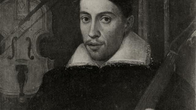 Ein Porträt von Claudio Monteverdi.