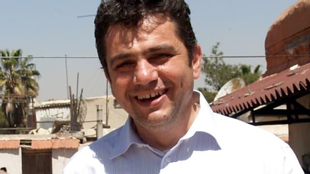 Nawras Sammour, Leiter des Flüchtlingsdiensts der Jesuiten in Damaskus