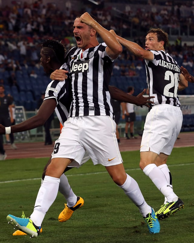 Dem Luzerner zeigt gegen Lazio eine vorzügliche Leistung: 1 Tor und 2 Assists.