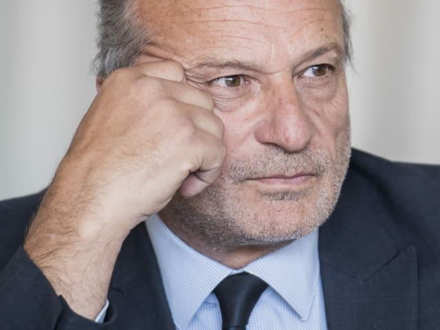 Portrait von Zürichs FDP-Stadtrat Filippo Leutenegger.