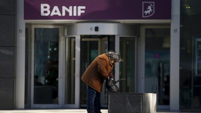 entrada da la banca