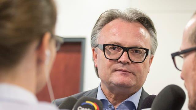 Stefan Roth am Tag der Stadtratswahlen.