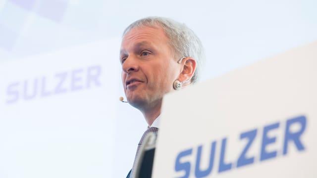 Greg Poux-Guillaume, il schef da concern da Sulzer.