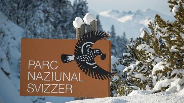 La tabla dal Parc Naziunal Svizzer
