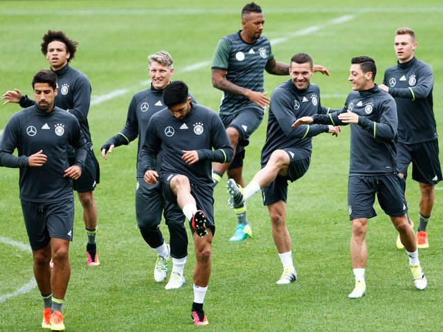 DFB-Auswahl im Training