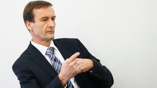 Der scheidende Konzernchef Michael Kunz